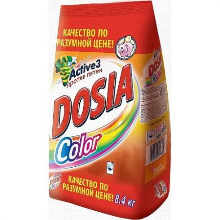 DOSIA Стиральный порошок автомат COLOR 8,4 кг dosia стиральный порошок автомат color 8 4 кг