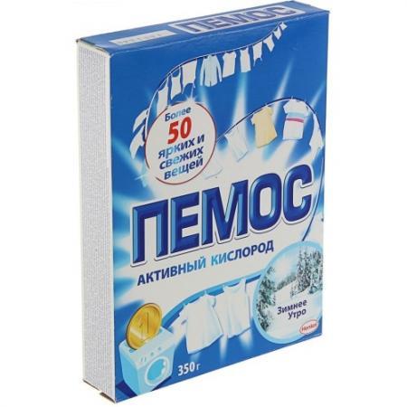 ПЕМОС Порошок стиральный Автомат Зимнее утро 350г стиральный порошок колор пемос 3 5 кг