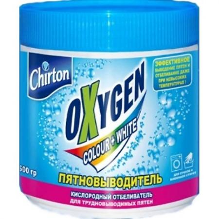 CHIRTON Порошок отбеливающий кислородный Oxygen 500г