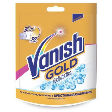 VANISH GOLD OXI Action Кристальная белизна Пятновыводитель отбеливатель 250г vanish oxi action кристальная белизна пятновыводитель отбеливатель для тканей жидкий 2 л