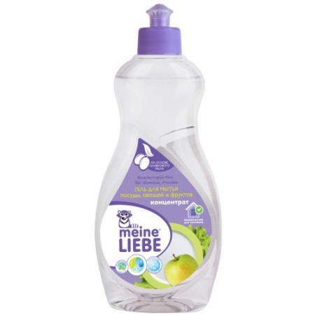 MEINE LIEBE Гель для мытья посуды, овощей и фруктов 500мл концентрат цена и фото