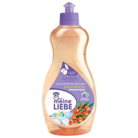 MEINE LIEBE Гель для мытья посуды Спелая облепиха концентрат 500мл цена и фото