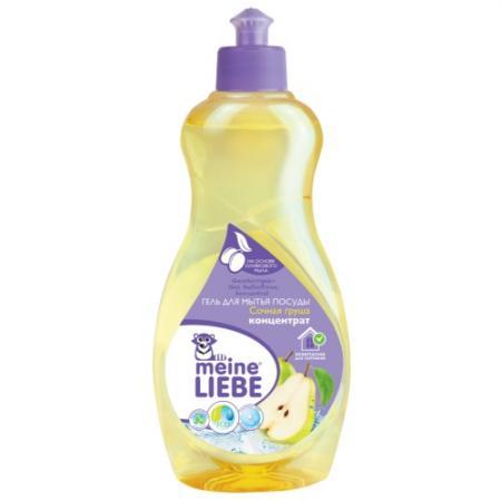 MEINE LIEBE Гель для мытья посуды Сочная груша концентрат 500мл цена и фото