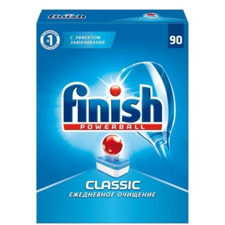 FINISH CLASSIC Средство для мытья посуды в посудомоечных машинах таблетки 90шт средство для мытья посуды finish 170707595496 для посудомоечных машин 65