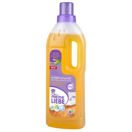 MEINE LIEBE Универсальное средство для мытья пола Уход за паркетом и ламинатом 750 мл средство для мытья пола meine liebe универсальное 1000 мл