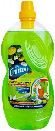 CHIRTON Жидкое средство для стирки Для цветных тканей Альпийские луга 1810 мл chirton жидкое средство для стирки изделий из белых тканей chirton 1540 мл