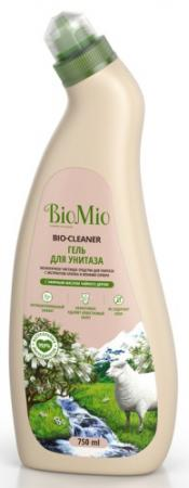 BioMio BIO-TOILET CLEANER Экологичное чистящее средство для унитаза Чайное дерево 750мл biomio bio sensitive экологичное средство для стирки деликатных тканей без запаха 1 5 л