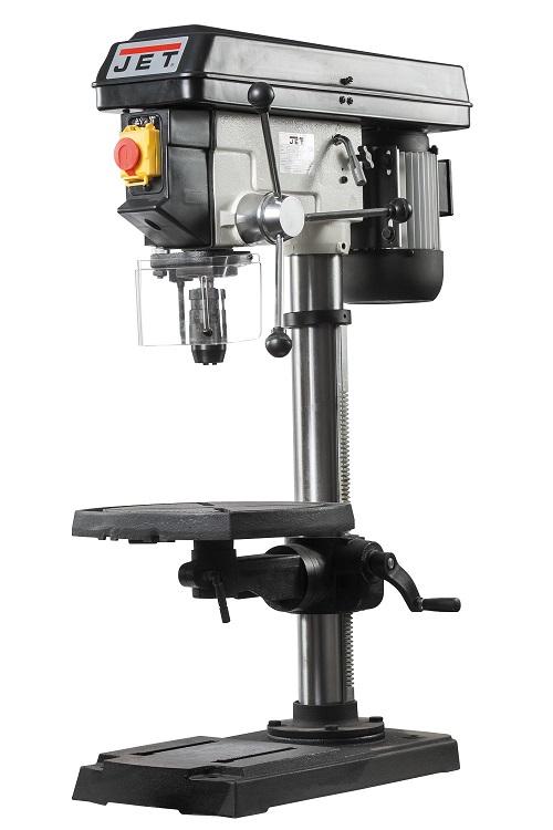 Станок сверлильный JET JDP-15T  380В 900Вт 210-2580об/мин макс.диаметр сверла 16мм