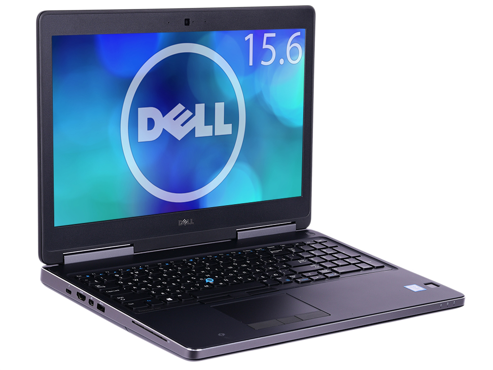 Ноутбук Dell Precision 7520 (7520-8017) i7-7820HQ (2.9) / 16Gb / 2Tb+256Gb SSD / 15.6 FHD IPS / Quadro M2200 4Gb / Win10 Pro / Black ноутбук msi gs73 7re 015ru core i7 7700hq 8gb 2tb 128gb ssd nv gtx1050ti 4gb 17 3 fullhd dvd win10 black