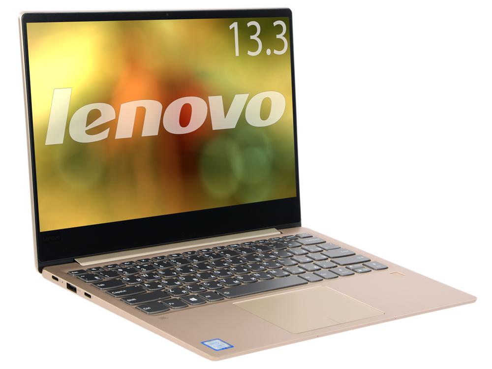 Ноутбук Lenovo IdeaPad 720S-13IKB (81A8000SRK) Core i7 7500U (2.5) / 8Gb / 256Gb / 13.3 UHD IPS / HD Graphics 620 / Win 10 Home / Gold ноутбук lenovo ideapad 720s 13 2700 мгц