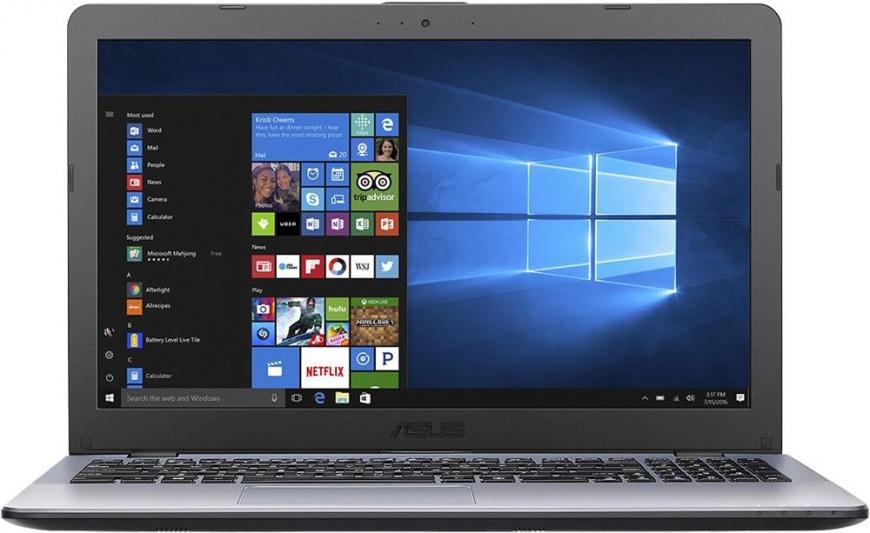 "Ноутбук Asus X542UN-DM165T i7-8550U (1.8)/12G/1T+128G SSD/15.6""FHD/NV MX150 4G/DVD-SM/BT/Win10 90NB0G82-M02700"