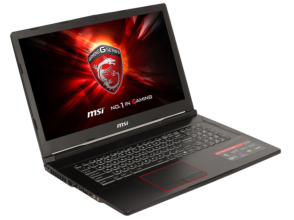 "Ноутбук MSI GE73 Raider RGB 8RF-094RU i7-8750H (2.2)/16GB/1TB+256GB SSD/17.3"" 1920x1080 AG 120Hz/NV GTX 1070 8GB/DVD нет/BT/Win10 Black 9S7-17C512-094"