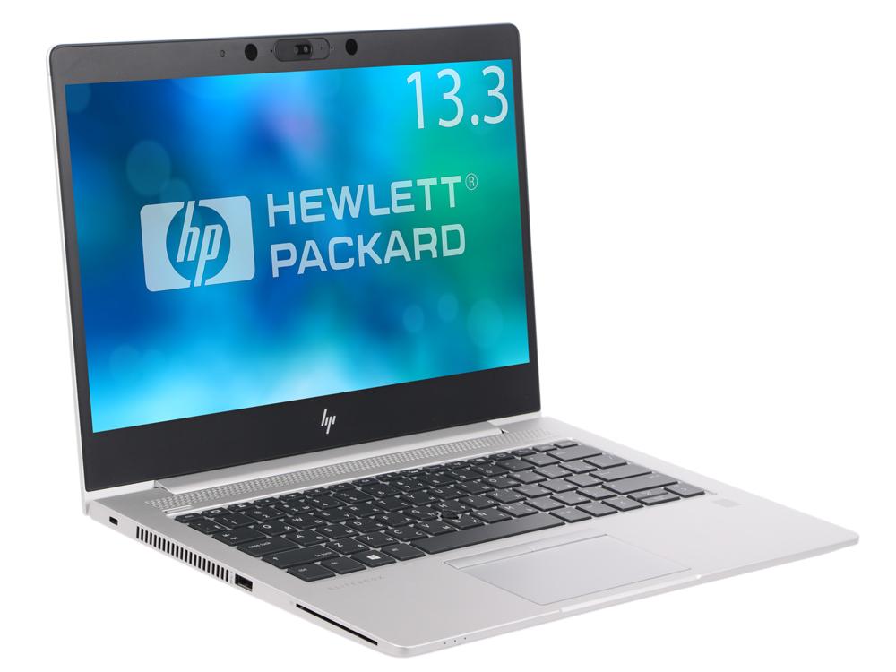 Ноутбук HP EliteBook 830 G5 (3JW84EA) Core i5 8250U (1.6) / 4Gb / 128Gb SSD / 13.3 FHD IPS / UHD Graphics 620 / Win 10 Pro / Silver ноутбук hp elitebook 850 g3 core i7 6500u 8gb 256gb ssd amd r7 365x 1gb 15 6 fullhd win10pro silver