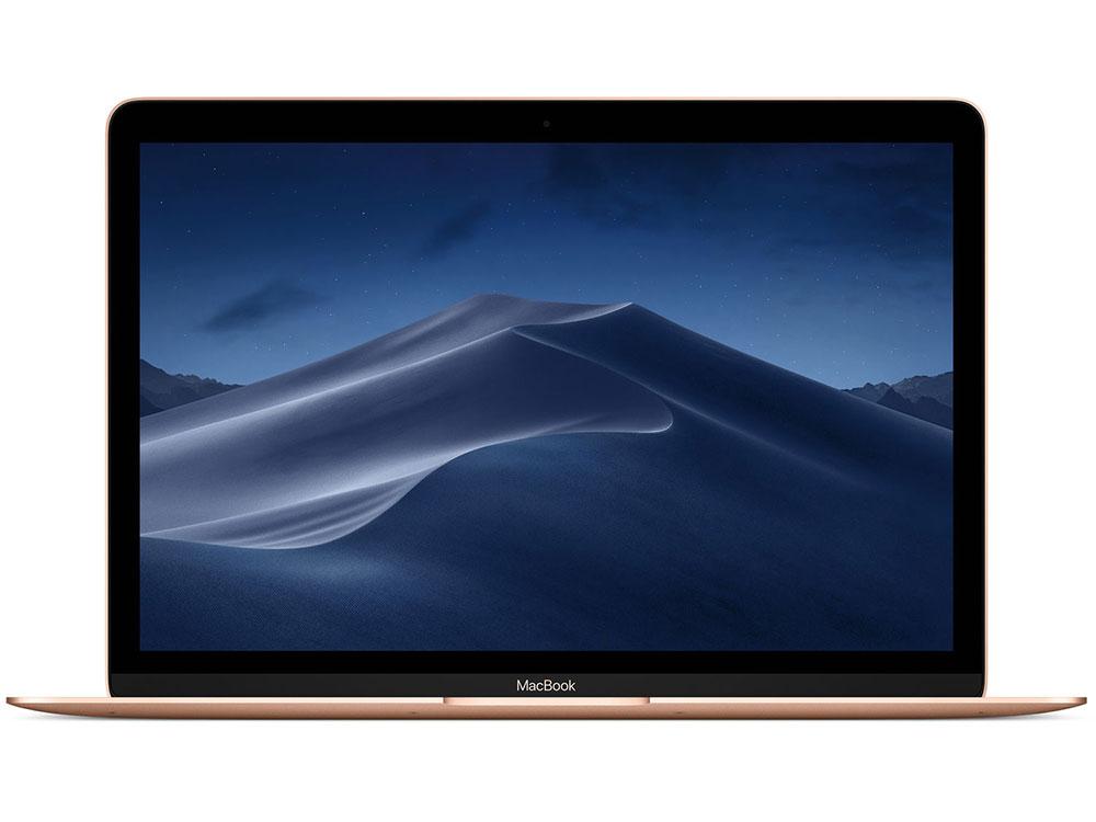 Ноутбук Apple MacBook MRQP2RU/A (Late 2018) i5-8200Y (1.3) / 8GB / 512GB SSD / 12 2304x1440 / Intel HD Graphics 615 / macOS / Gold ноутбук apple macbook mid 2017 512gb mnyj2ru a silver