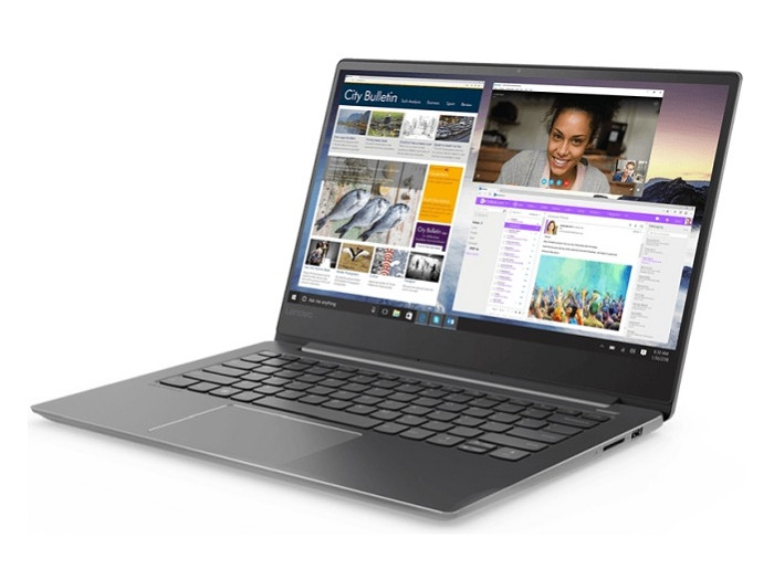 Ноутбук Lenovo IdeaPad 530S-14IKB (81EU00BFRU) Core i7 8550U (1.8) / 8Gb / 256Gb SSD / 14 WQHD IPS / UHD Graphics 620 / Win 10 Home / Black gy910 handheld digital coating thickness gauge tester fe nfe coatings lcd display