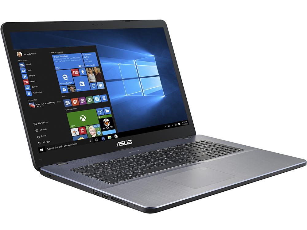 Ноутбук ASUS VivoBook 17 X705UB-GC309T Core i5 8250U (1.6) / 4Gb / 1Tb / 17.3