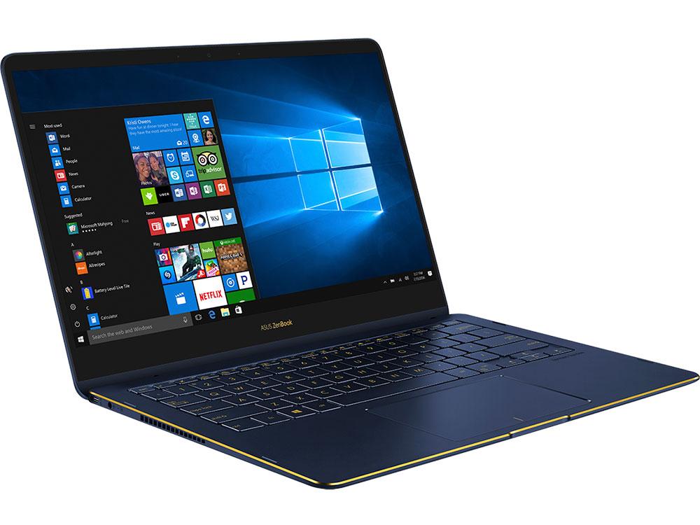 Ноутбук ASUS Zenbook Flip S UX370UA-C4277T Core i5 8250U (1.6) / 8Gb / 256Gb SSD / 13.3 FHD IPS Touch / UHD Graphics 620 / Win 10 Home / Blue ноутбук asus zenbook 13 ux331fn eg003t core i5 8265u 1 6 8gb 256gb ssd 13 3 fhd ips geforce mx150 2gb win 10 home slate grey