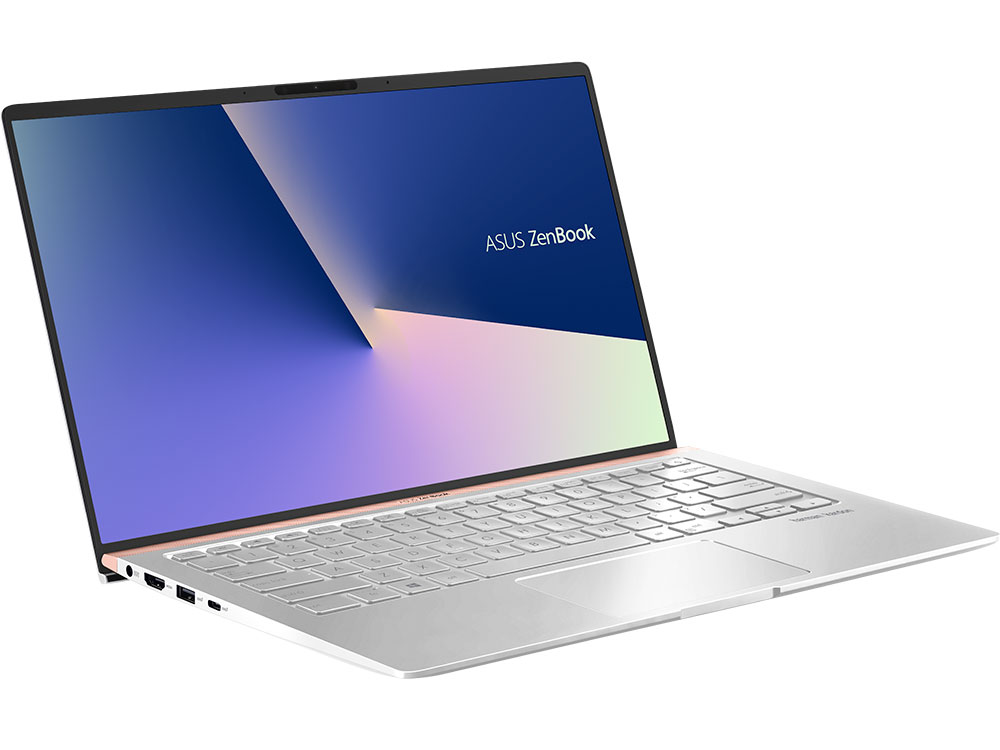 Ноутбук ASUS Zenbook 14 UX433FA-A5119T Core i3 8145U (2.1) / 8Gb / 256Gb SSD / 14 FHD IPS AG / UHD Graphics 620 / Win 10 Home / Silver ноутбук asus zenbook ux410ua gv503t 90nb0dl3 m10950