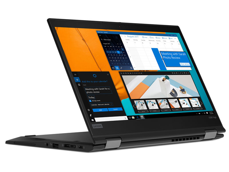 Ноутбук Lenovo ThinkPad X390 Yoga (20NN002HRT) Core i7 8565U (1.8) / 8Gb / 256Gb SSD / 13.3 FHD IPS Touch / UHD Graphics 620 / Win 10 Pro / Black ноутбук lenovo x1 extreme 1st gen 15 6 fhd ips 20mf000srt
