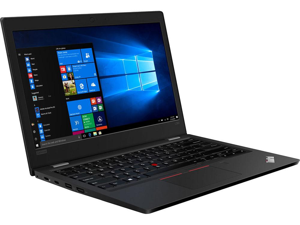 Ноутбук Lenovo ThinkPad L390 (20NR0011RT) Core i3 8145U (2.1) / 8Gb / 256Gb SSD / 13.3 FHD IPS / UHD Graphics 620 / Win 10 Pro / Black ноутбук lenovo thinkpad e580 i7 8550u 8gb 1tb 620 15 6 ips fhd w10pro black