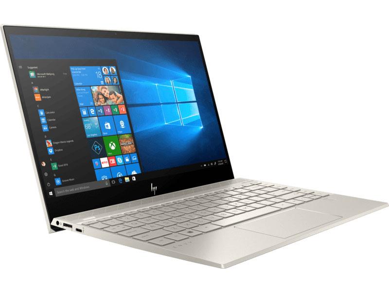 Ноутбук HP Envy 13-aq0003ur (6PS50EA) Core i5 8265U (1.6) / 8Gb / 256Gb SSD / 13.3 FHD IPS / UHD Graphics 620 / Win 10 Home / Pale gold ноутбук hp elitebook 850 g3 core i7 6500u 8gb 256gb ssd amd r7 365x 1gb 15 6 fullhd win10pro silver
