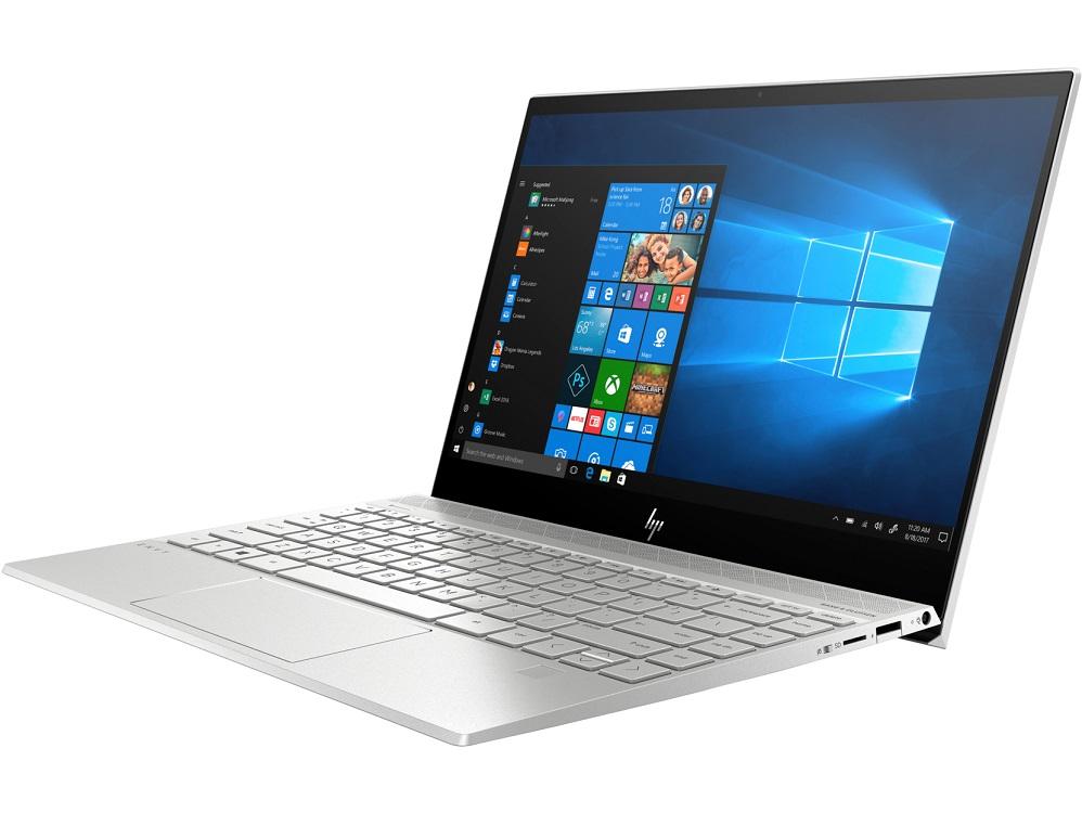 Ноутбук HP Envy 13-aq0004ur i5 8265U (1.6) / 8Gb / 256Gb SSD / 13.3 FHD IPS / UHD Graphics 620 / Win 10 Home / Natural silver ноутбук hp envy 13 ah1007ur 5cu77ea