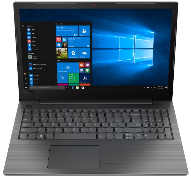 Ноутбук Lenovo V130-15IKB (81HN00NFRU) Core i3 7020U (2.3) / 4Gb / 128Gb SSD / 15.6