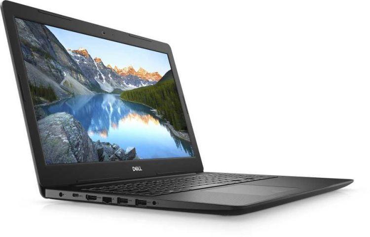 Ноутбук Dell Inspiron 3593 (3593-8628) Core i5 1035G1 (1.0) / 4Gb / 1Tb / 15.6 FHD TN / GeForce MX230 2Gb / Win 10 Home / Black