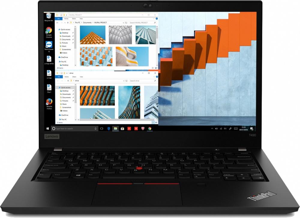 Ноутбук Lenovo ThinkPad T490 (20N20075RT) Core i5 8265U (1.8) / 16Gb / 512Gb SSD / 14
