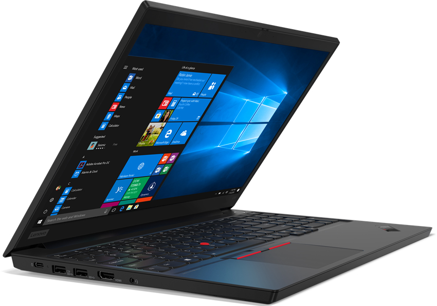 Ноутбук Lenovo ThinkPad E15 (20RD0013RT) Core i7 10510U (1.8) / 16Gb / 1Tb+ 256Gb SSD / 15.6