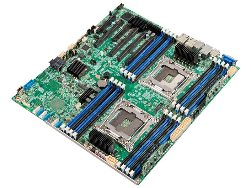 Материнская плата Intel DBS2600CW2R Socket 2011-3 C612 8xDDR4 4xPCI-E 16x 1xPCI-E 4x 1xPCI-E 8x 10xS все цены