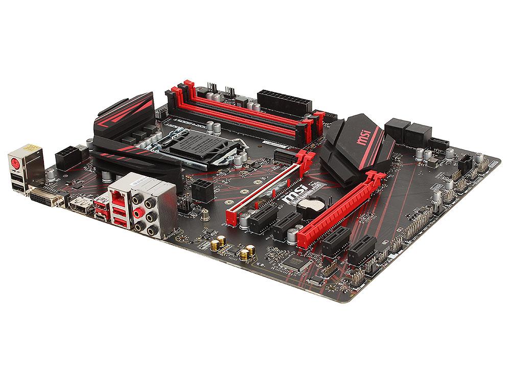 Материнская плата MSI B360 GAMING PLUS (S1151, iB360, 4*DDR4, 2*PCI-E16x, 2*PCI-E4x, DVI, DP, SATAIII, M.2, GB Lan, USB3.1, ATX, Retail) материнская плата для пк eip atx q67 4 pci q67 i3 i5 i7 4 pci 10com kh q67dm