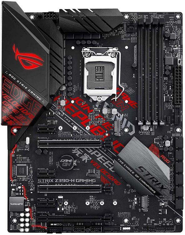 ROG STRIX Z390-H GAMING материнская плата asus rog strix z390 h gaming