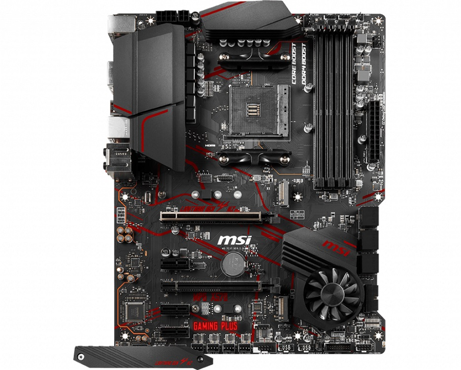 Материнская плата MSI MPG X570 GAMING PLUS AM4, AMD X570, 4xDDR4, 2xPCI-Ex16, 3xPCI-Ex1, HDMI, SATAIII+RAID, M.2, GLan, USB 3.2, ATX