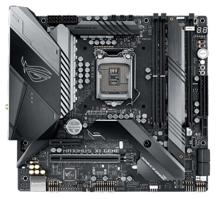 Материнская плата Asus ROG MAXIMUS XI GENE S1151v2, Intel Z390, 2xDDR4, mATX, 8ch(7.1), GbLAN все цены