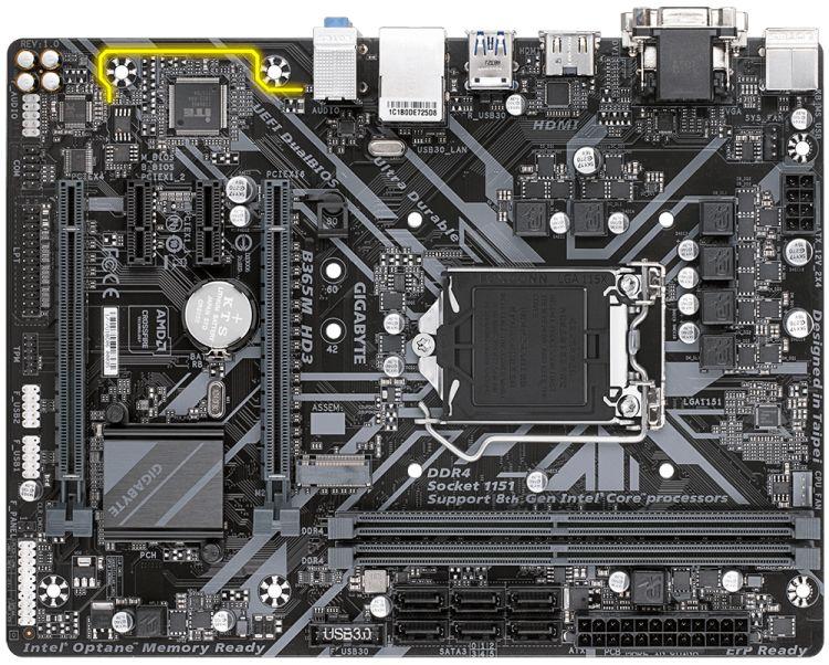 Материнская плата Gigabyte B365M HD3 1151v2 B365 2xDDR4 mATX AC`97 8ch(7.1) GbLAN+VGA+DVI+HDMI цена 2017