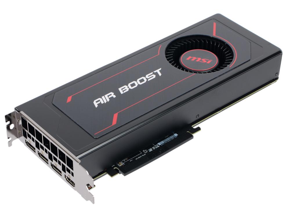Видеокарта MSI Radeon RX Vega 56 Air Boost 8G OC 8GB 1181 MHz Radeon RX Vega 56/HBM2 800MHz/2048 bit/PCI-E/3*DP HDMI видеокарта msi radeon rx 550 radeon rx 550 4gt lp oc pci e 4096mb gddr5 128 bit retail rx 550 4gt lp oc