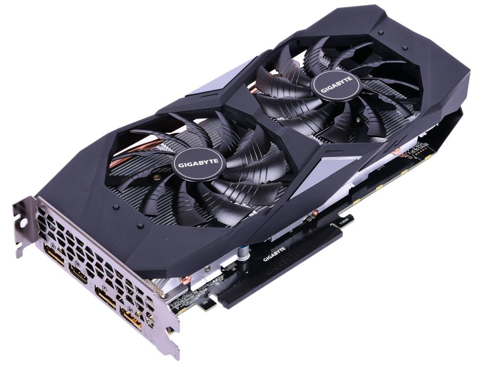 Видеокарта 6Gb  GIGABYTE GeForce GTX 1660 Ti GV-N166TGAMING OC-6GD видеокарта gigabyte geforce gtx 1050 ti 1328mhz pci e 3 0 4096mb 7008mhz 128 bit dvi 3xhdmi hdcp windforce oc gv n105twf2oc 4gd