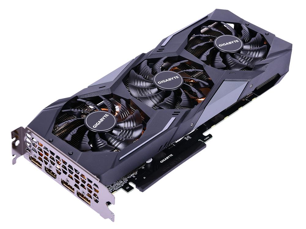 Видеокарта 6Gb PCI-E GIGABYTE GeForce GTX 1660 Ti GV-N166TWF2OC-6GD GTX1660Ti, GDDR6, 192bit, HDCP, HDMI, 3*DP, Retail видеокарта 2048mb gigabyte geforce gtx1050 pci e 128bit gddr5 dvi hdmi dp hdcp gv n1050g1 gaming 2gd retail