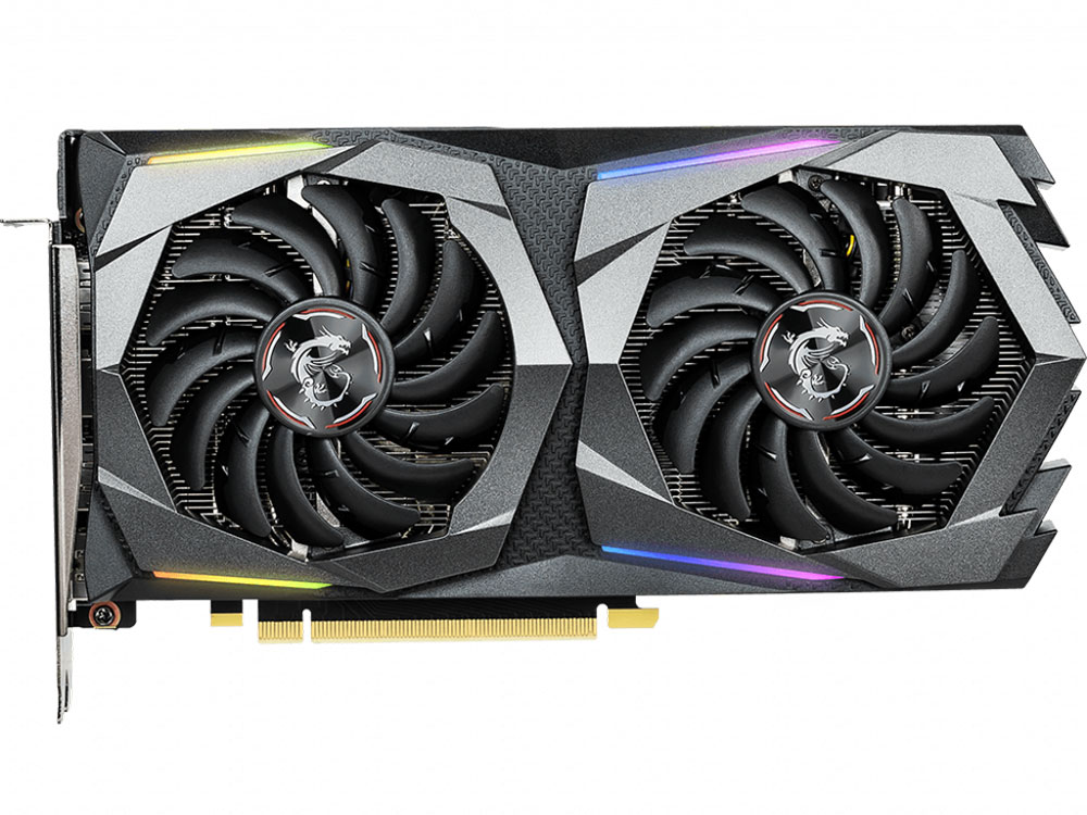 Видеокарта MSI GeForce GTX 1660 GAMING X 6G 6Gb 1860 MHz NVIDIA GTX 1660/GDDR5 8000Mhz/192bit/PCI-E 16x/DP, HDMI