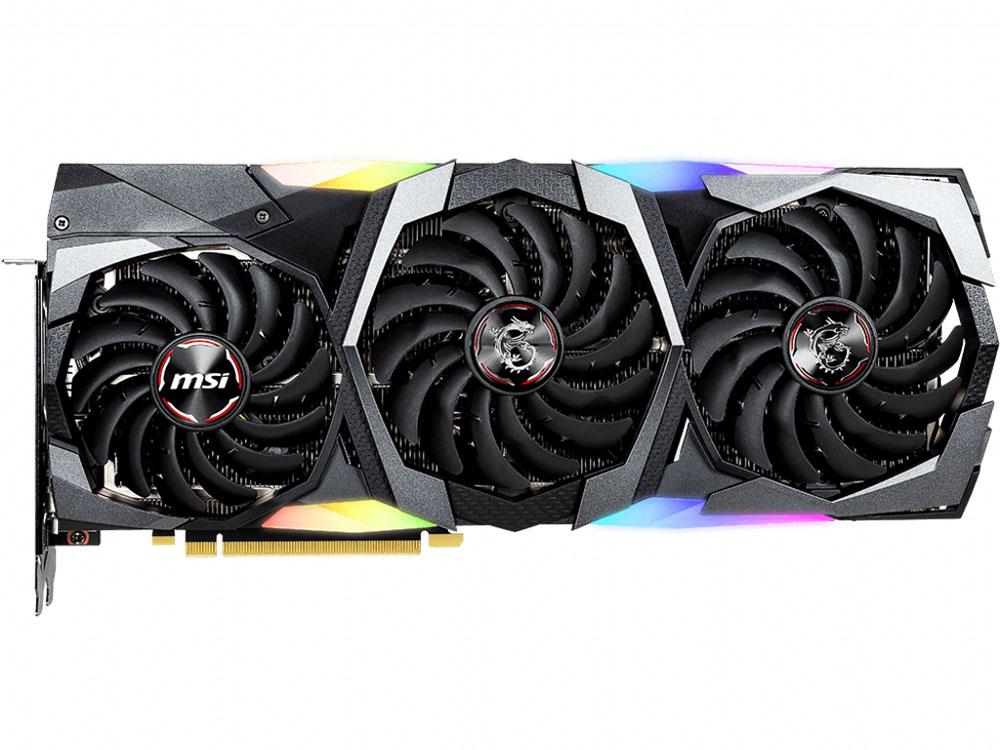 Видеокарта MSI GeForce RTX 2070 SUPER GAMING TRIO 8Gb 1605 MHz NVIDIA RTX 2070/GDDR6 14000Mhz/256bit/PCI-E 16x/3xDP, HDMI
