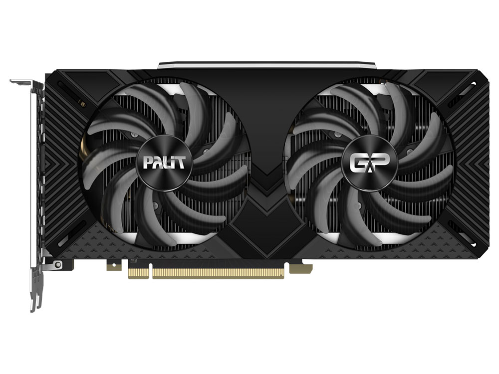 Картинка для Видеокарта Palit GeForce RTX 2060 SUPER GP (PA-RTX2060SUPER GP 8G) 8Gb 1470 MHz NVIDIA RTX 2060 SUPER/GDDR6 14000Mhz/256bit/PCI-E 16x/3xDP, HDMI