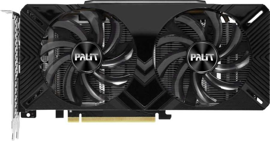 Видеокарта Palit GTX1660 Dual 6G 6Gb 1530 MHz NVIDIA GTX 1660/GDDR5 8002Mhz/192bit/PCI-E 16x/DP, HDMI, DVI удлинитель 8 pin pci e