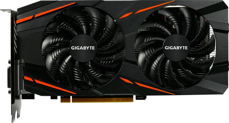 Видеокарта Gigabyte GV-RX590GAMING-8GD 8Gb 1469 MHz AMD RX 590/GDDR5 8000Mhz/256bit/PCI-E 16x/DP, HDMI, DVI-D