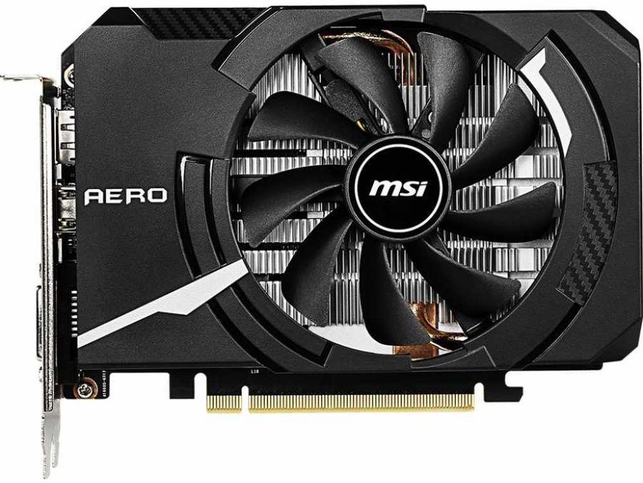 Видеокарта MSI GTX 1660 Ti AERO ITX 6G 6Gb NVIDIA GeForce GTX1660 Ti/GDDR6 12000Mhz/192bit/PCI-E 16x/DP, HDMI, DVI