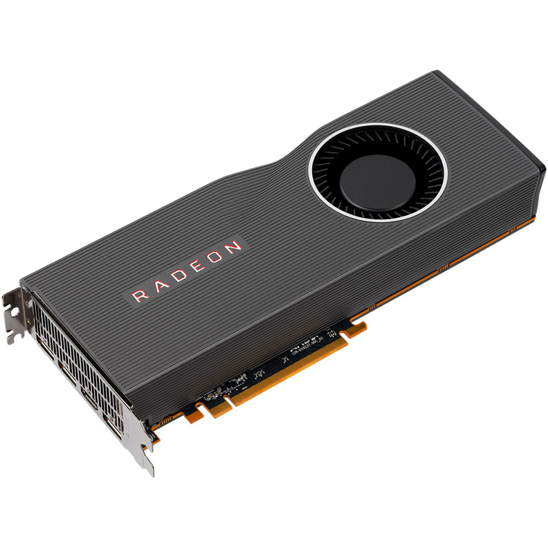 Видеокарта ASUS RX5700XT-8G 8Gb 1605 MHz AMD RX 5700 XT/GDDR6 14000Mhz/256bit/PCI-E 16x/DP, HDMI asus radeon rx 470 1206mhz pci e 3 0 8192mb 6600mhz 256bit 2dvi hdmi dp hdcp strix rx470 8g gaming