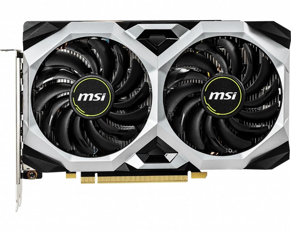 Видеокарта MSI GeForce GTX 1660 VENTUS XS 6G OC 6Gb 1830 MHz NVIDIA GTX 1660/GDDR5 8000Mhz/192bit/PCI-E 16x/DP, HDMI стоимость