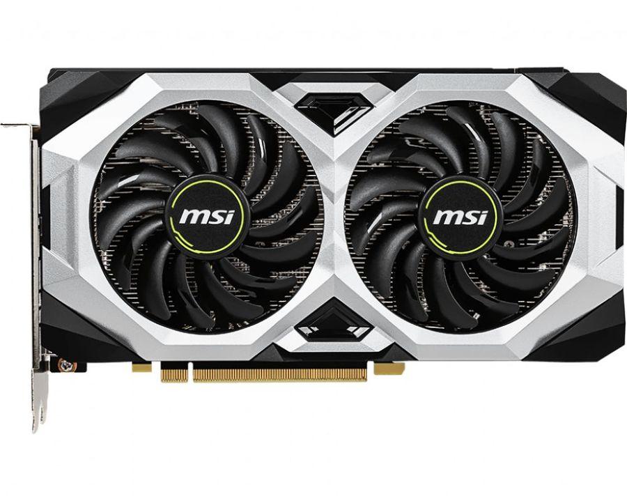 Видеокарта MSI GeForce RTX 2060 VENTUS 6G 6Gb 1365 MHz NVIDIA RTX 2060/GDDR6 14000Mhz/192bit/PCI-E 16x/DP, HDMI