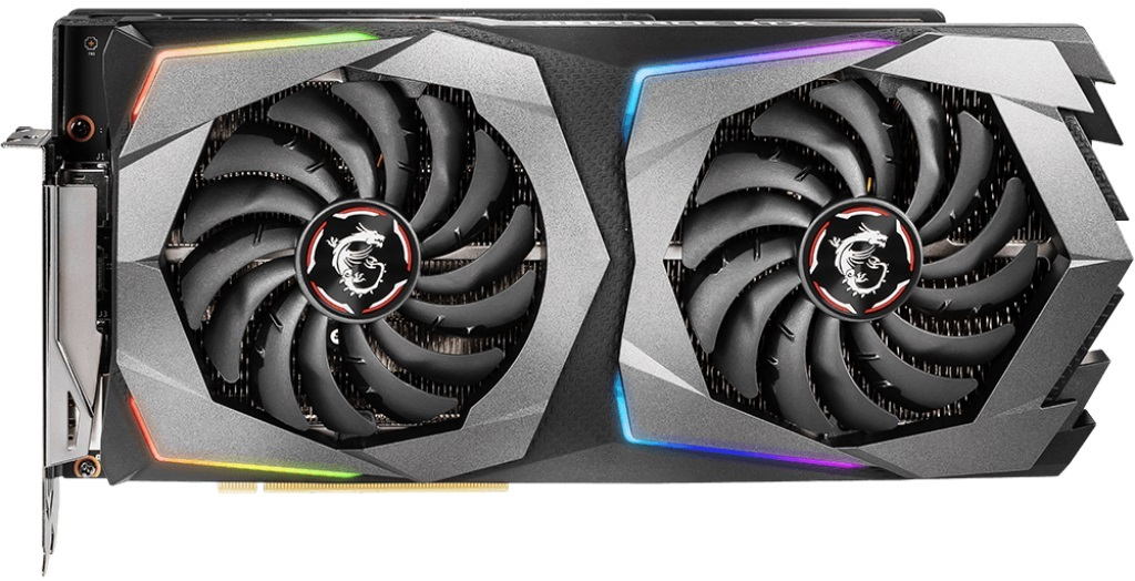 Видеокарта MSI GeForce GTX 1660 (GTX 1660 GAMING 6G) 6Gb 1800Mhz NVIDIA GTX 1660/GDDR5 8000Mhz/192bit/PCI-E 16x/3xDP, 1xHDMI