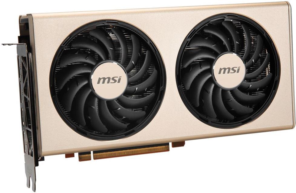 Видеокарта MSI Radeon RX 5700 (RX 5700 EVOKE OC) 8Gb 1540 MHz AMD RX 5700/GDDR6 14000Mhz/256bit/PCI-E 16x/DP, HDMI
